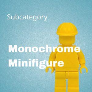 Monochrome Minifigure